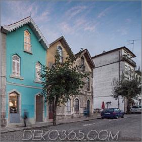 Portugiesisches Stadthaus mit brasilianischem architektonischem Einfluss aus dem 19. Jahrhundert