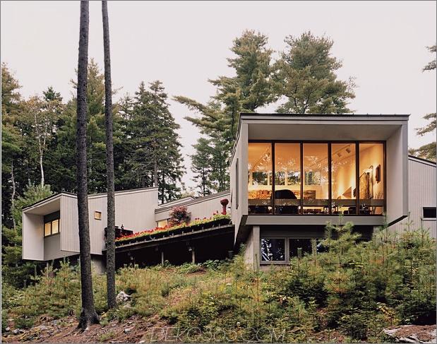 Wirbelsäulen-Modul-Heimclips passen zusammen in Landschaft 1 Außen-Daumen 630xauto 43532 Architekten-Eigenheim mit einem unbestreitbaren Gefühl von Gemütlichkeit gefüllt