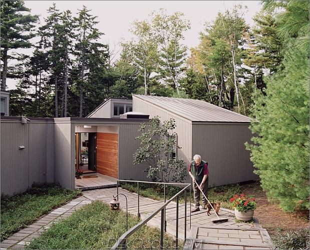 Wirbelsäulen-Modul-Home-Clips werden zusammengefügt, um die Landschaft 2-Annäherung zusammenzufassen