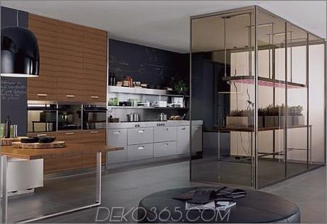 arclinea kitchen italia thumb Arclinea Kitchen Eco-kompatible Küche Italia mit Gewächshaus