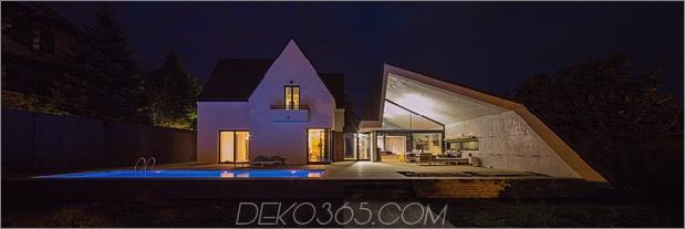 Ein asymmetrischer Betonzusatz modernisiert den bestehenden Wohnsitz thumb 630xauto 60088 Asymmetrical Concrete Architecture