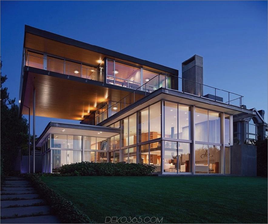 Glas Graham House von E. Cobb Architects 900x751 Atemberaubende moderne Glashäuser, die in den Storybooks auf sich warten