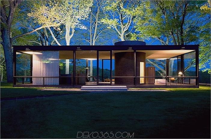 Philip Johnsons Glashaus