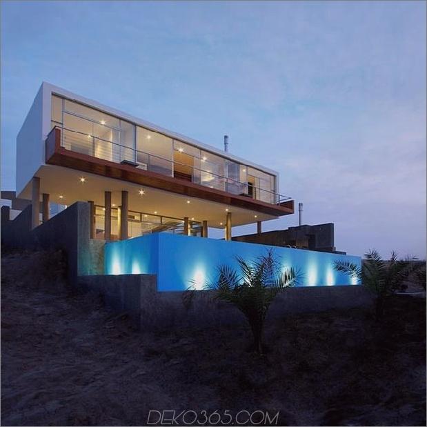 atemberaubendes ultramodernes Strandhaus mit Glaswänden 1 unter Winkel 630xauto 37448 Atemberaubendes ultramodernes Strandhaus mit überlaufendem Pool