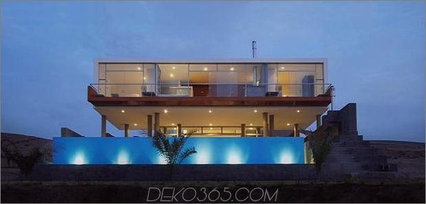 atemberaubendes ultramodernes Strandhaus mit Glaswänden 2 gerader Daumen 630xauto 37450 Atemberaubendes ultramodernes Strandhaus mit überlaufendem Pool