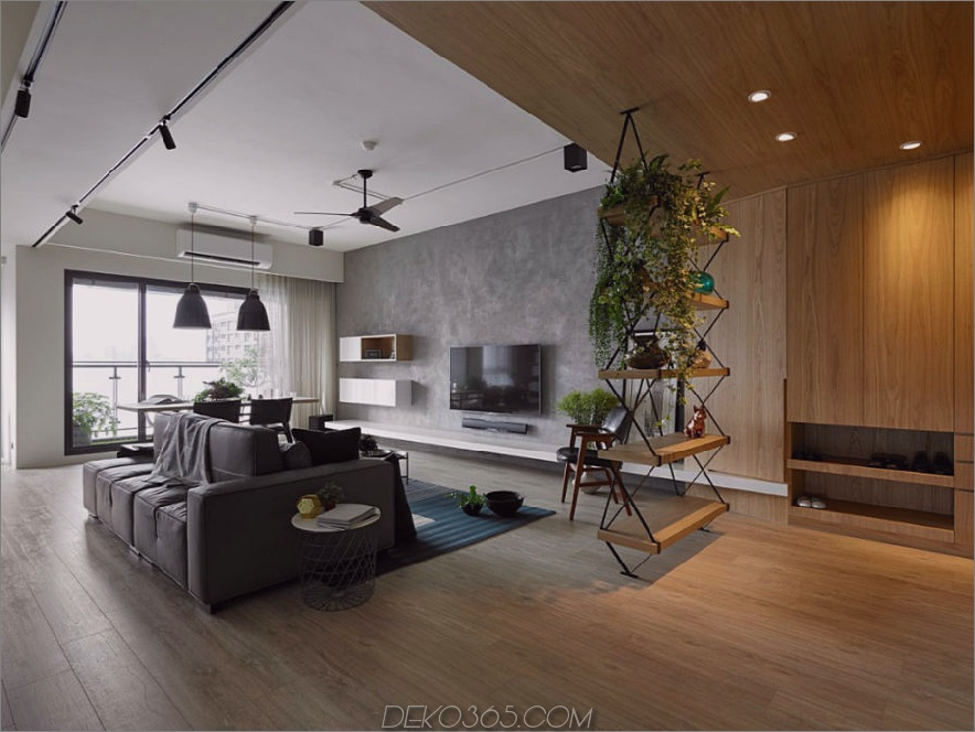 AworkDesign Studio komplettiert ein weiteres modernes Apartment in Taiwan_5c58e05a6c633.jpg