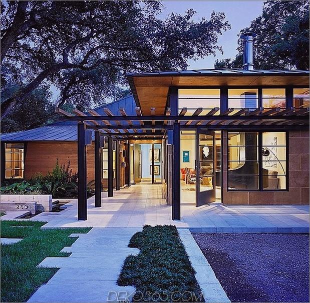 balinesisch beeinflusst modern texas home zen atmosphäre 2 gehweg thumb 630x617 17429 Balinesisch beeinflusst modern Texas Home With Zen Atmosphere