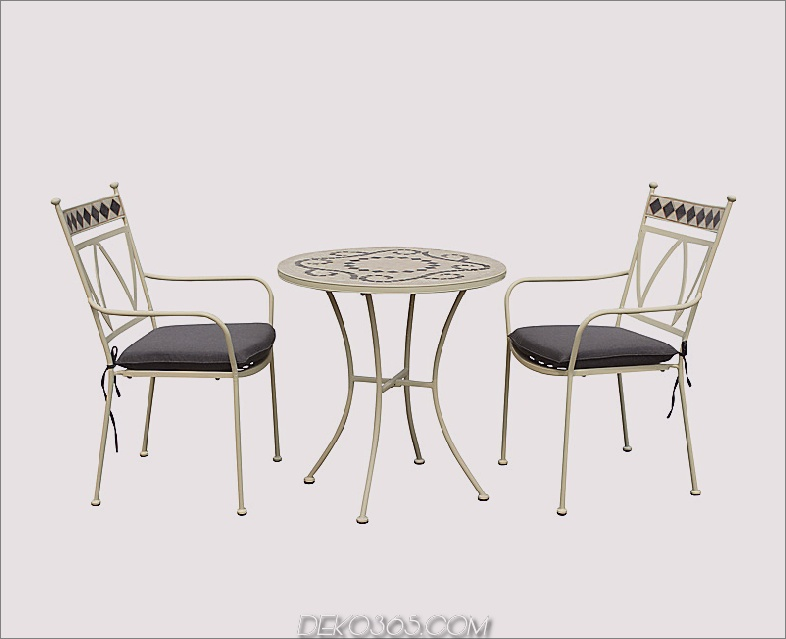 LG Outdoor Marrakech 2-Sitzer Outdoor-Bistro-Set