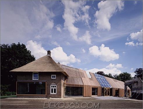 wolzak house Bauernhaus-Renovierungsideen und er - Originalziegel mit moderner Holzverlängerung