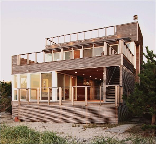 Bay View House Design 8 Bay View House Design: Natürliches, modernes Ferienhaus