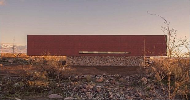 1 minimalistisches Haus Fluss Rock rostigen Stahl Daumen 630xauto 63591 Schöne einfache Heimanwendungen 5 Baustoffe: Stein, Stahl, Holz, Beton, Glas