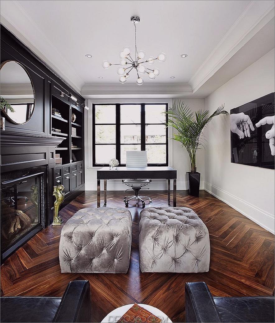 Schwarz und Weiß sind schicke, elegante Farben, die auch beruhigen.