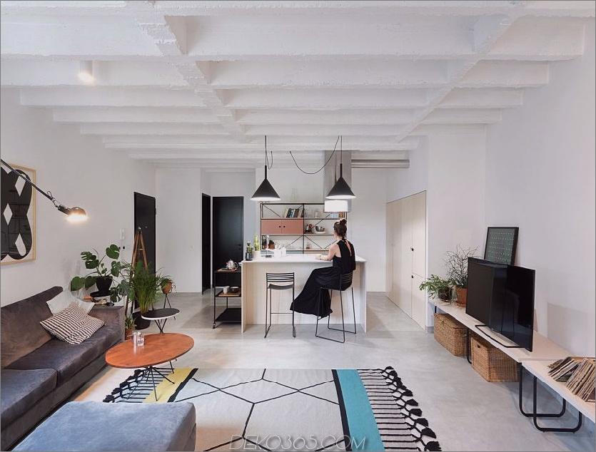 Belgrader Paar verkörpert stilvolles Zuhause zeitgenössisch cool_5c58dfee4df1e.jpg