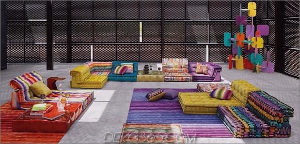 new mah jong sofa missoni home roche bobois 1 thumb 630xauto 60973 Beliebte Mah Jong Sofa Serie erhält eine schöne Ergänzung