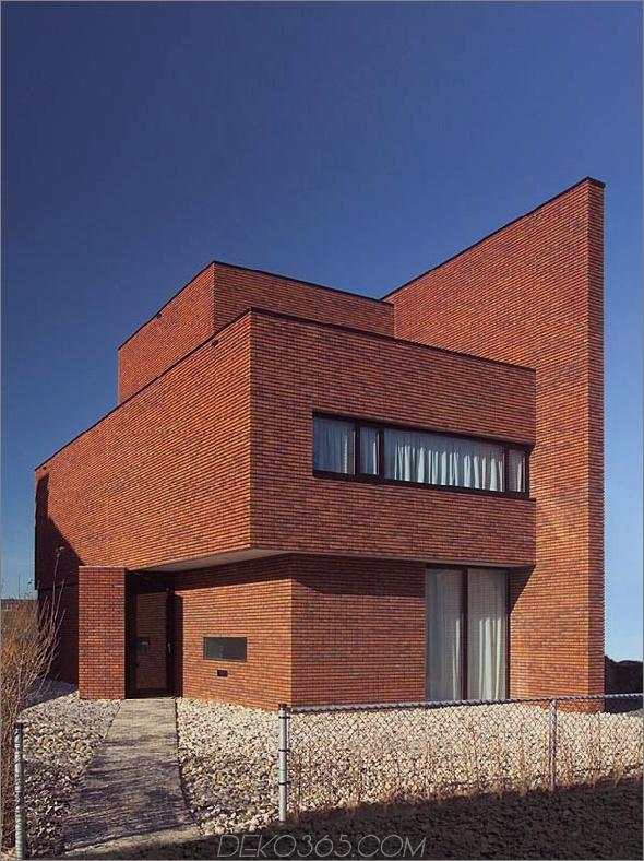 Ziegelmauerhaus minimalistischer Stil 2 Brick Wall House bietet minimalistischen Stil mit maximaler Anziehungskraft