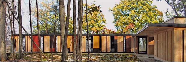 Glas See Haus von Bäumen inspiriert und gebaut 1 thumb 630x209 11460 Bunte Haus am See in Hanglage gebaut