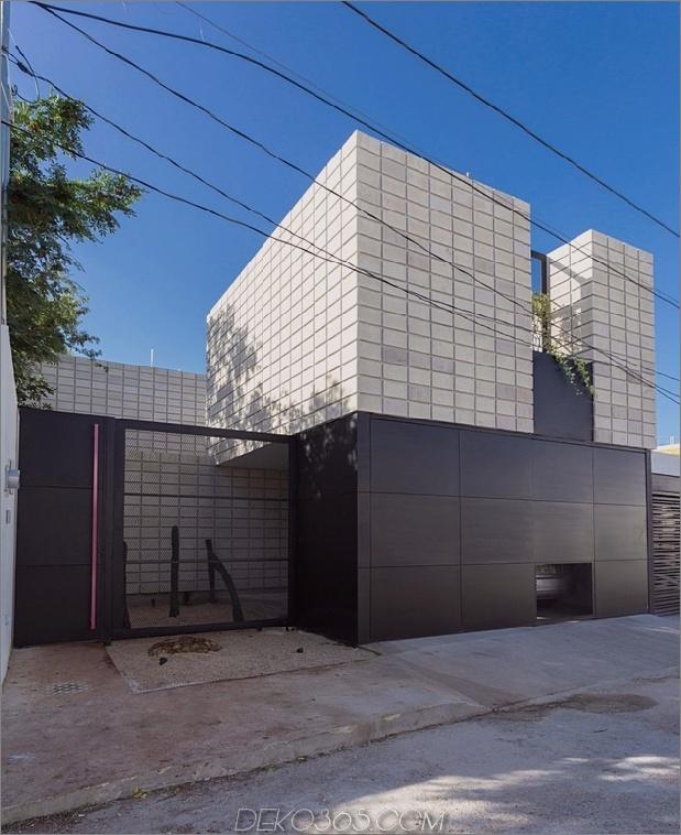 2 c-förmiger betonblock hause schwimmbad hof autox772 67026 C-förmiger betonblock hause rund um schwimmbad hof