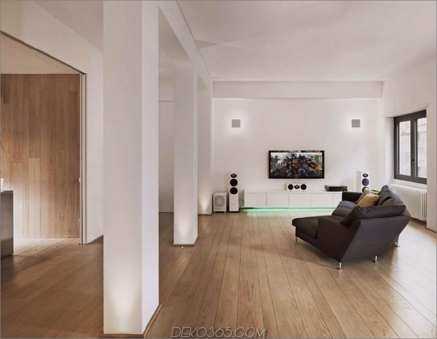Minimales Wohnzimmer 900x698 Carola Vannini entwirft eine palastartige zeitgenössische Wohnung in Italien