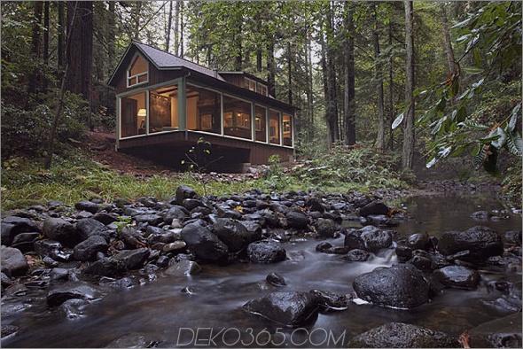 charmante creekside cabin kalifornien 1 Charmante Creekside-Kabine mit rustikaler, raffinierter Ästhetik