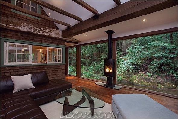 charmante creekside cabin kalifornien 2 Charmante Creekside-Kabine mit rustikaler, raffinierter Ästhetik
