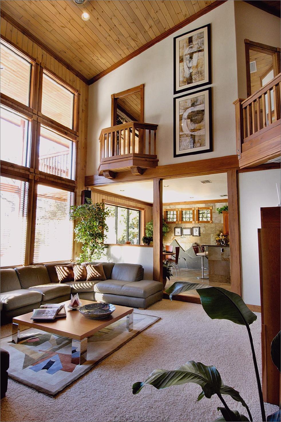 kontrastierende Deckenfarben Charming Rooms With All Wood Ceilings