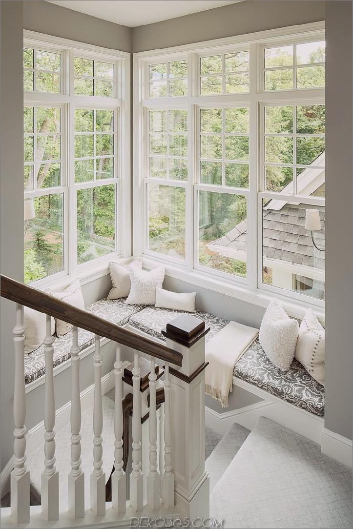 Eckfenstermöbel Charming Window Seat Ideen, die die Außenseite herein bringen