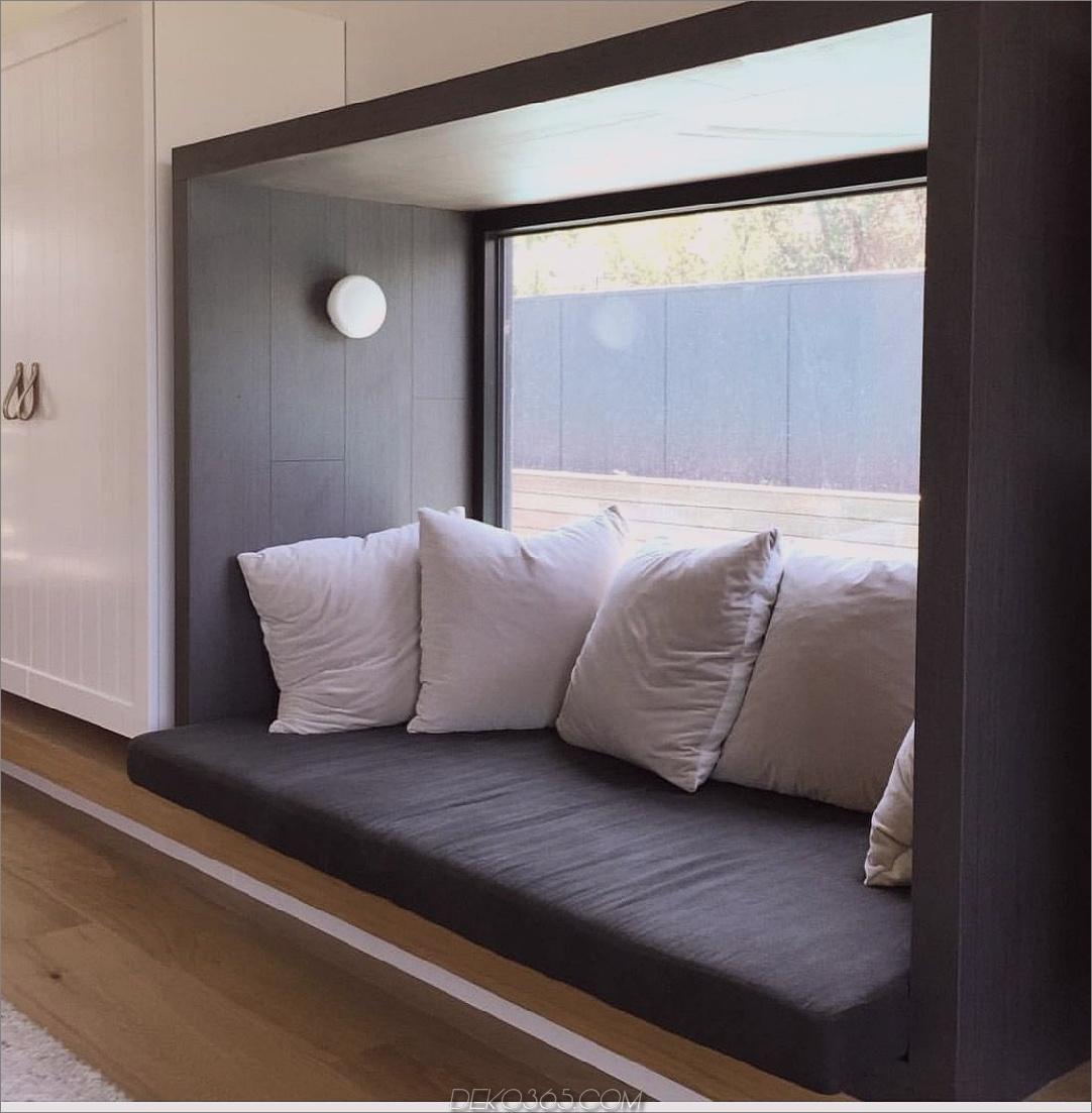 Licht in Fenstersitzen Charming Window Seat Ideen, die das Äußere in bringen