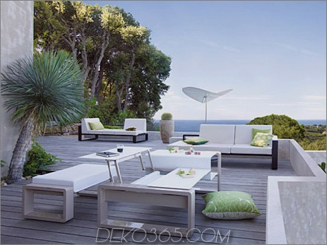 Egoparis Outdoor-Möbel Kama 2 Chic-Outdoor-Möbelkollektionen High End-Kollektion Kama von Egoparis
