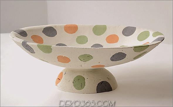 unreiner Betonbehälter Farbiger Betonbehälter von Deborah Brackenbury multifunktionale Außen- / Innenbehälter