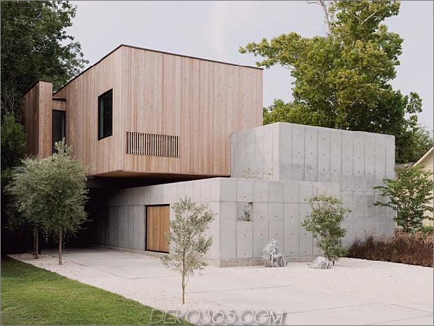 1 Haus Beton Holz Würfel japanisches Design thumb 630xauto 61300 Concrete Box House Beeinflusst durch japanisches Design