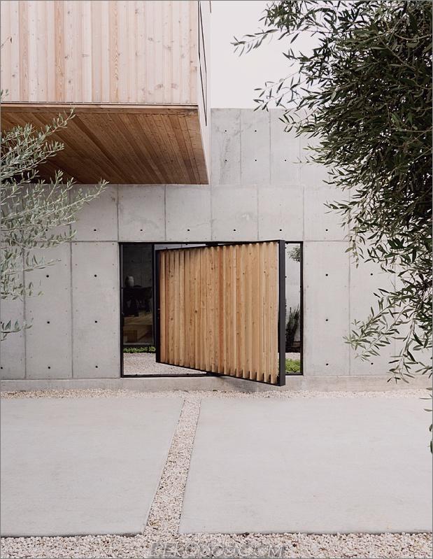 2 haus beton holzwürfel japanisches design daumen autox814 61303 Concrete Box House beeinflusst durch japanisches Design
