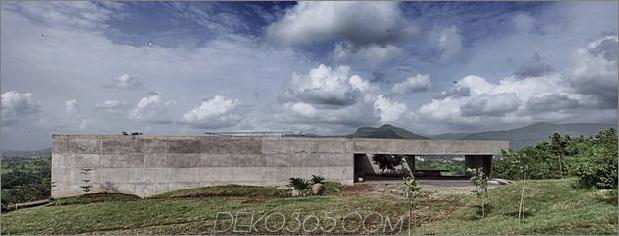 Monsunbeweis Betonpavillon Haus 1 thumb 630xauto 33004 Betonbunker Like House ist Monsoonbeweis