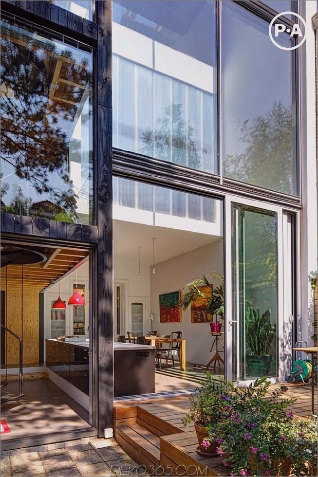 cooles niederländisches haus mit zeitgenössischen volumen und lücken neu gestaltet 1 thumb 630x945 12288 Cooles niederländisches Haus mit vierstöckiger Wendeltreppe