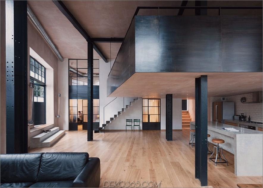 Lagerumbau von Sadie Nelson Architects