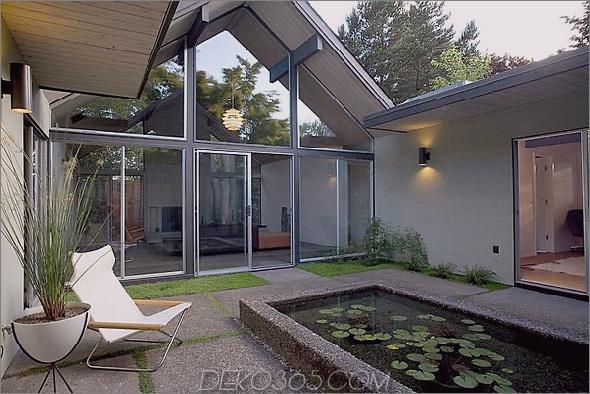 Innenhof-Designs zum Verkauf 3 Innenhof-Designs - Satteldachhaus zu verkaufen