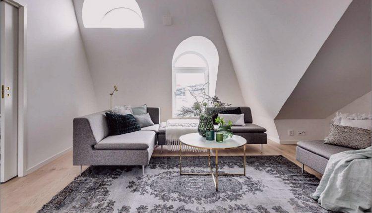 Dachgeschosswohnung in Stockholm bestimmt Layout und Stil_5c58b783d1fbb.jpg