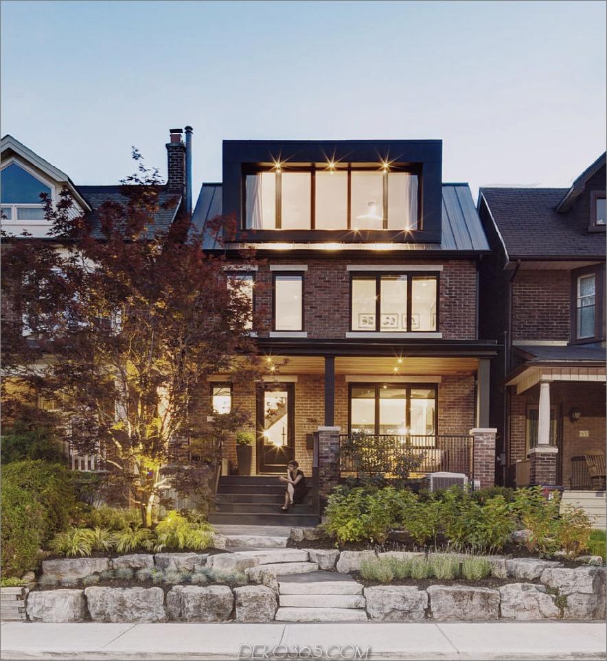 Riverdale Dormer House 900 x 981 Jahrhundert altes Toronto-Haus bekommt einen völlig neuen Look
