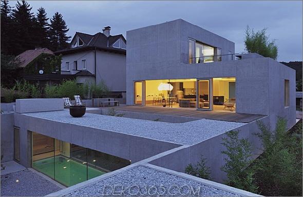 haus d 2 Multi-Level-Hausdesign in Ljubljana, Slowenien verwirrt mit seiner räumlichen Anordnung