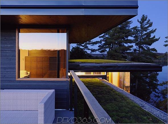 Ontario Öko-Haus Altius-Architektur Muskoka 2 Das Öko-Haus in Ontario betreibt das Netz