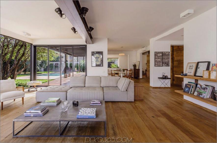 Das renovierte Haus aus den 1950er Jahren vereint Moderne und Zeitgenossenschaft_5c58e024a38d6.jpg