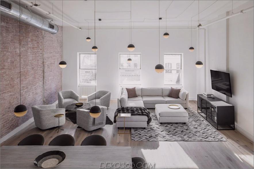 Mit der Anzahl der Anhänger würden Sie denken, es wäre ein heimeliges Café mit 900x599 Dekorationshilfen: TriBeCa Loft Mit Neutralen gefüllt