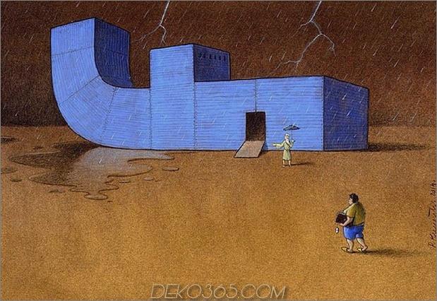 pawel facebook thumb 630xauto 66828 Der Karikaturist Pawel Kuczynski nimmt mit seiner Kunst, die zum Nachdenken anregt, auf Facebook