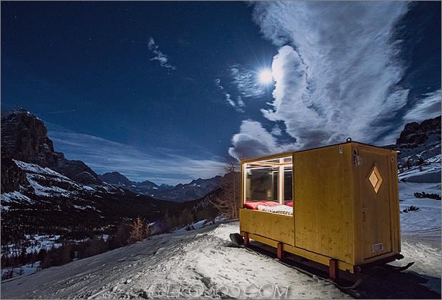kleines Sternenlichthaus in den Bergen 1 thumb 630xauto 65593 Kleines Sternenlichtzimmer in den Dolomiten ist der Himmel auf Erden