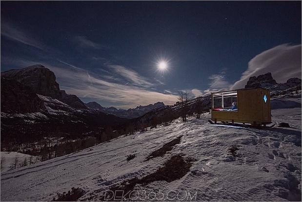 kleines Sternenlichthaus in den Bergen 2 thumb 630xauto 65594 Kleines Sternenlichtzimmer in den Dolomiten ist der Himmel auf Erden
