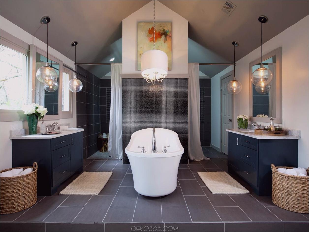 symmetrische Beleuchtung Design Essentials für ein verträumtes Badezimmer