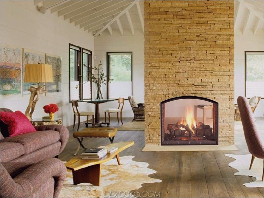 Gaskamine doppelseitig geschlossen 900x675 Diese 15 doppelseitigen Kamine wünschen die kältesten Nächte des Jahres