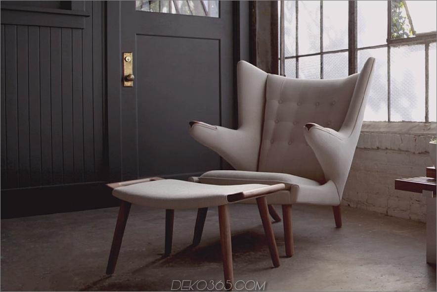 moderner cremefarbener Lesesessel mit Fußstütze 900x600 Diese 15 Lesestühle machen Ihre Ecken zu viel Gemütlichkeit