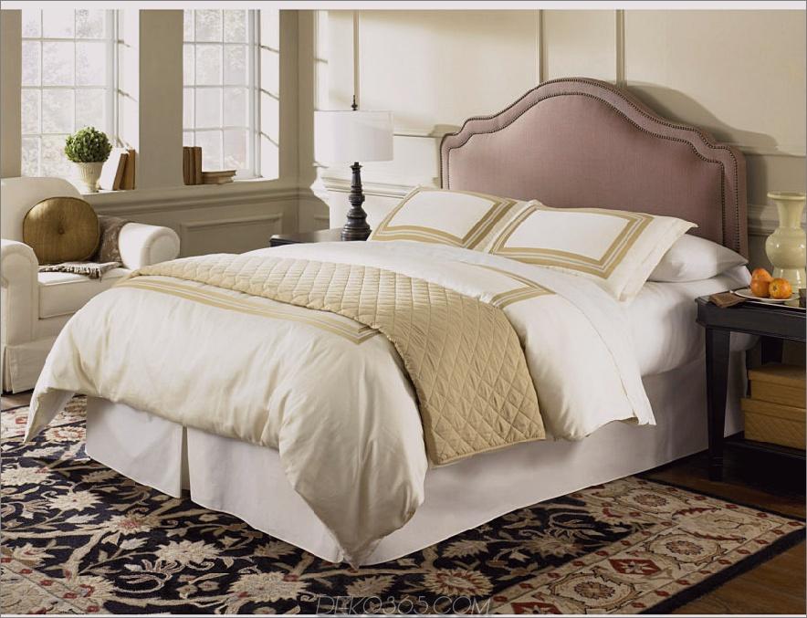 Elegante gepolsterte Kopfteile Queen 1 900x689 Diese 37 eleganten Kopfteil-Designs heben Ihr Schlafzimmer auf ein neues Niveau von Chic