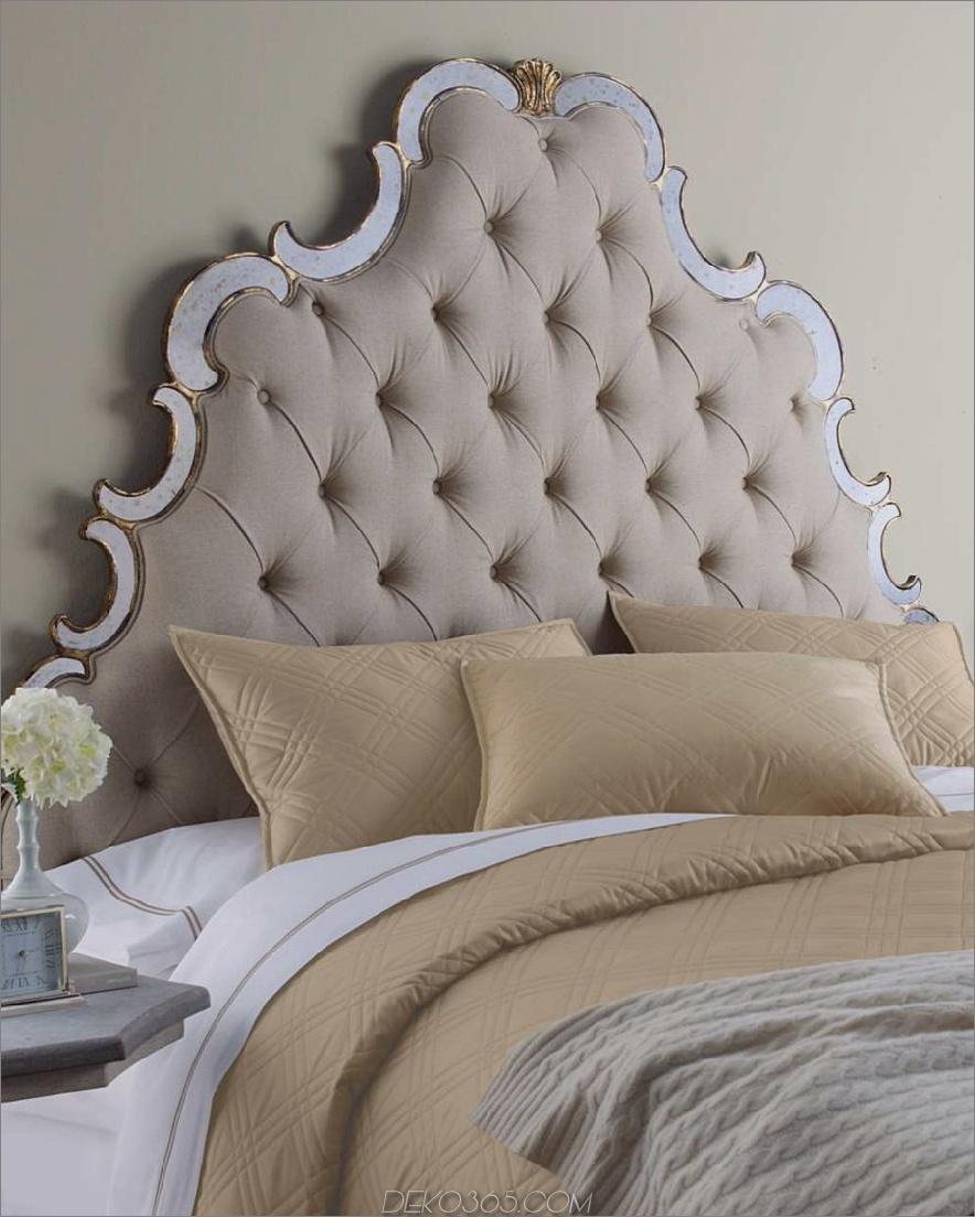 Elegantes Queen-Size-Bett 900x1125 Diese 37 eleganten Kopfteil-Designs heben Ihr Schlafzimmer auf ein neues Niveau von Chic