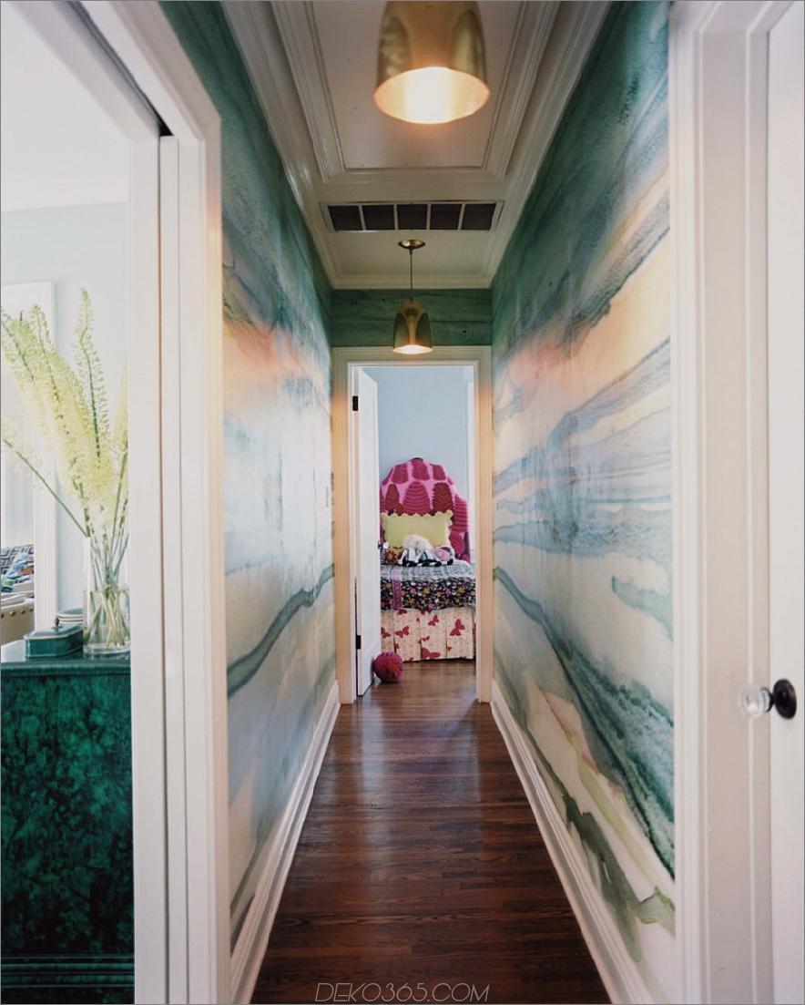 Flurendesign by Wendy Schwartz Design 900x1123 Diese dramatischen Flure hinterlassen einen bleibenden Eindruck bei Ihren Gästen